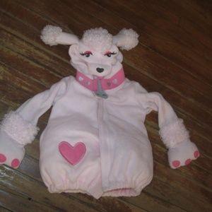 Pink Poodle Costume Coat Jacket ADORABLE